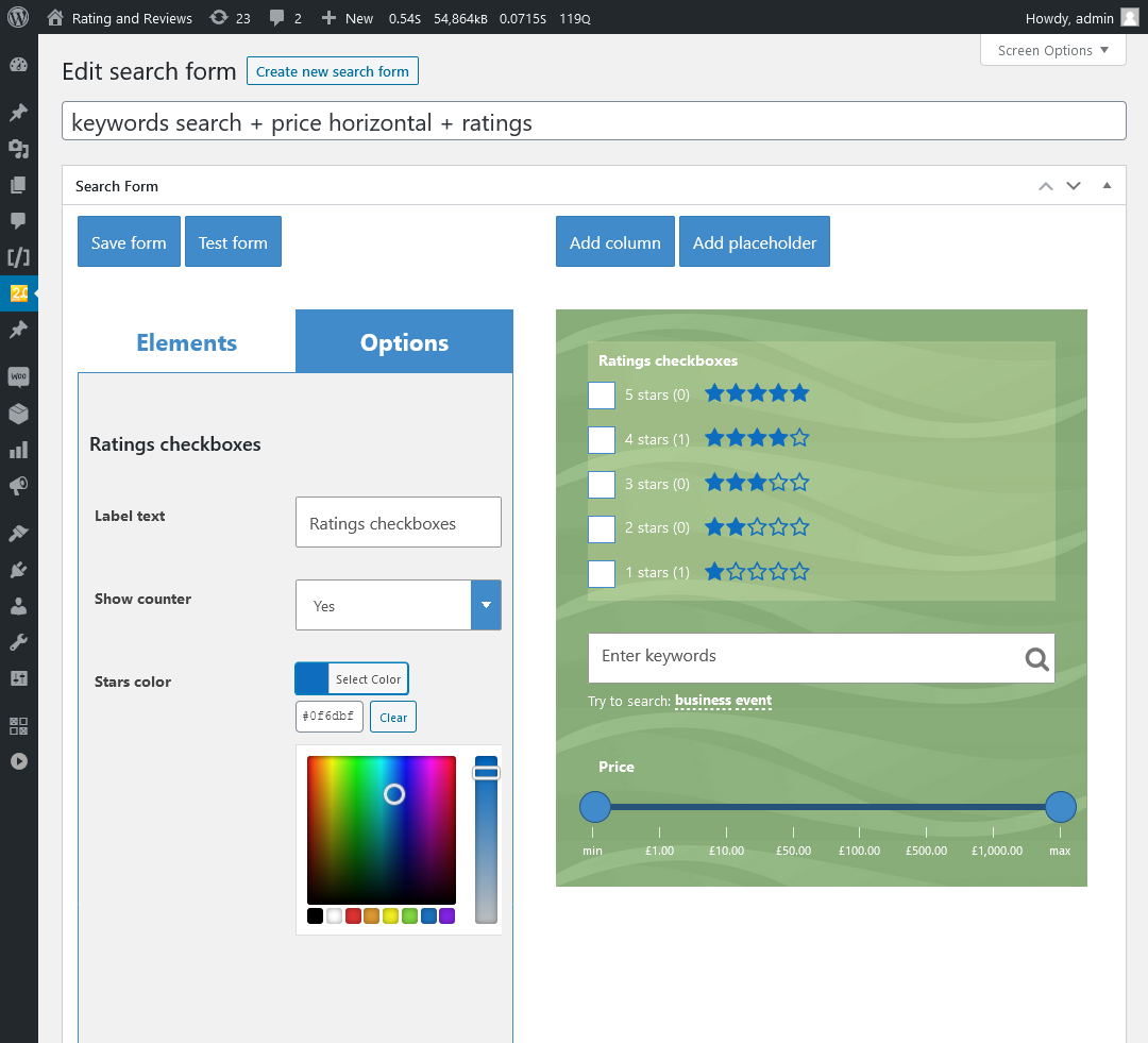 Plug-in WooCommerce Search & Filter para WordPress - 10